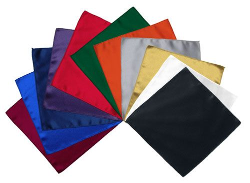 Style 1081RA - Satin Pocket Square