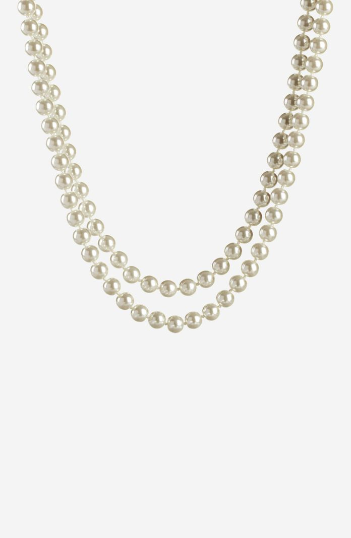 Style 1058 - 48 inch Fashion Pearl Necklace