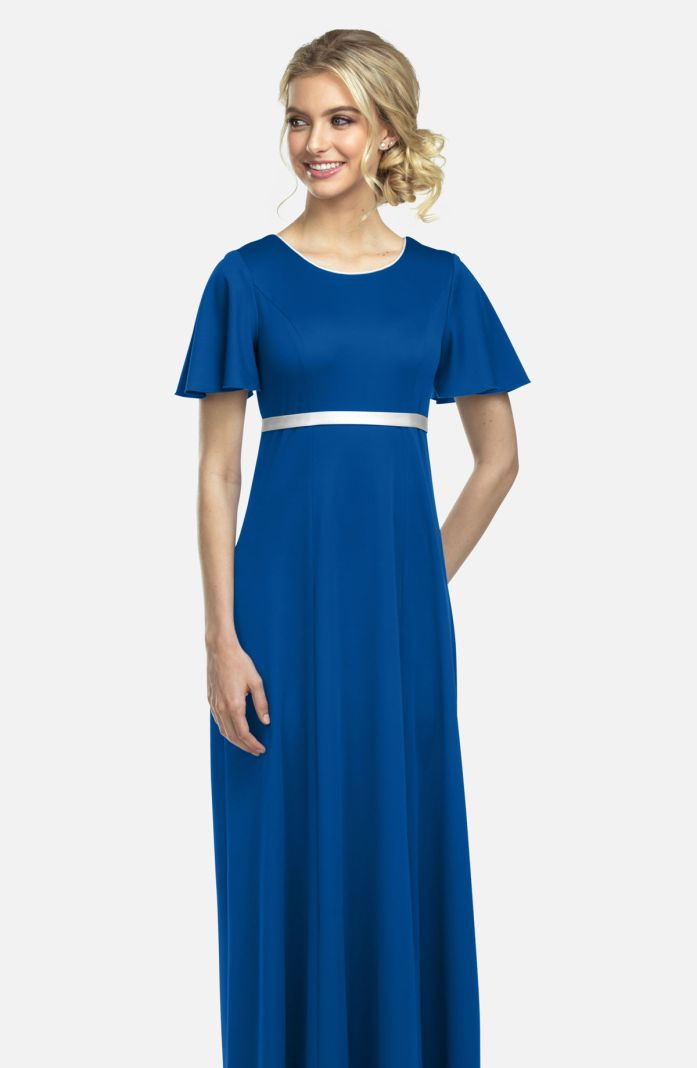 Style 47N52AA-P - Contrasting Piping and Trim Dress