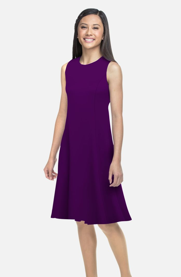 Style S3700AA - Performance Knit Swing Dress